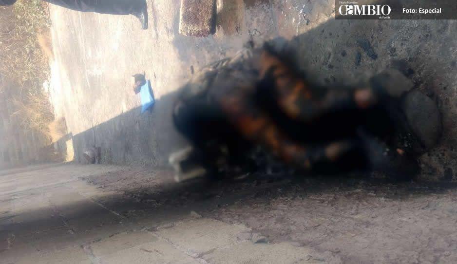 Encuentran en San Andrés cadáver calcinado; le quebraron el cráneo