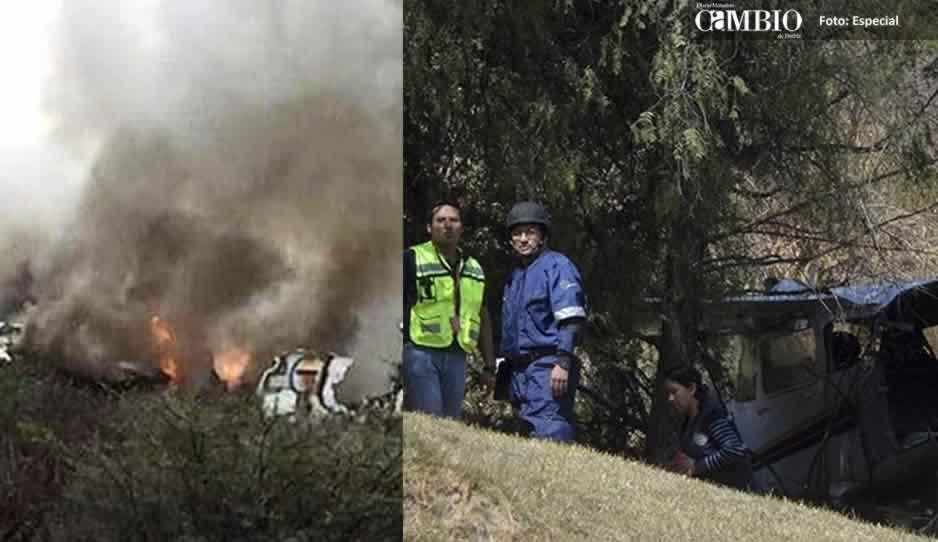 Se desploma avioneta en el Pico de Orizaba, hay dos muertos