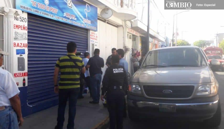 Asegura FGE inmuebles de maquila en Tehuacán.