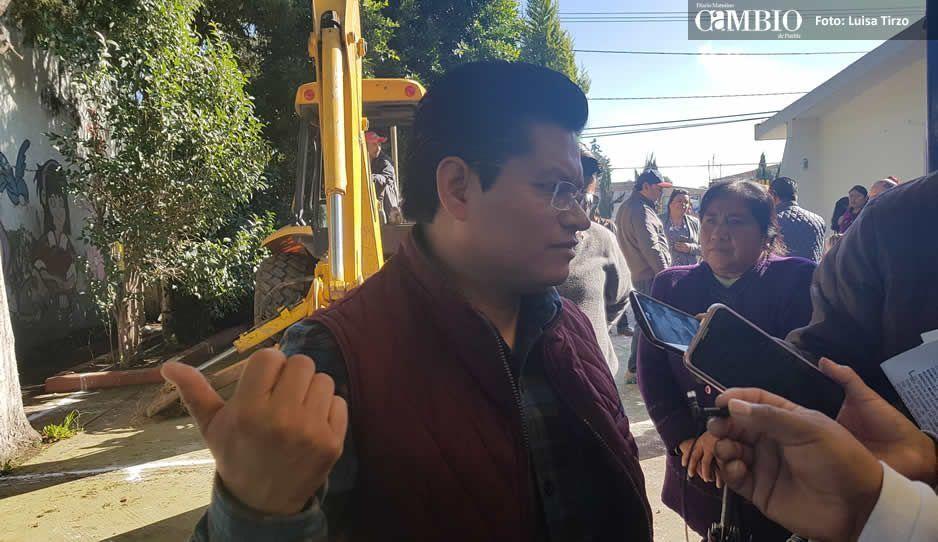 Mely Macoto se lleva expedientes de Obra Pública de Coronango
