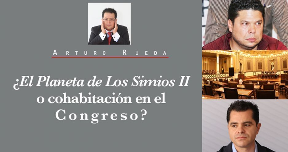 ¿El Planeta de Los Simios II o cohabitación en el Congreso?