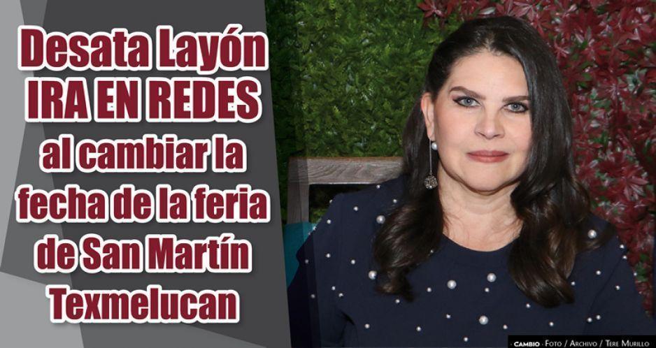Norma Layón desata la ira en San Martín por cambiar la fecha de la feria patronal