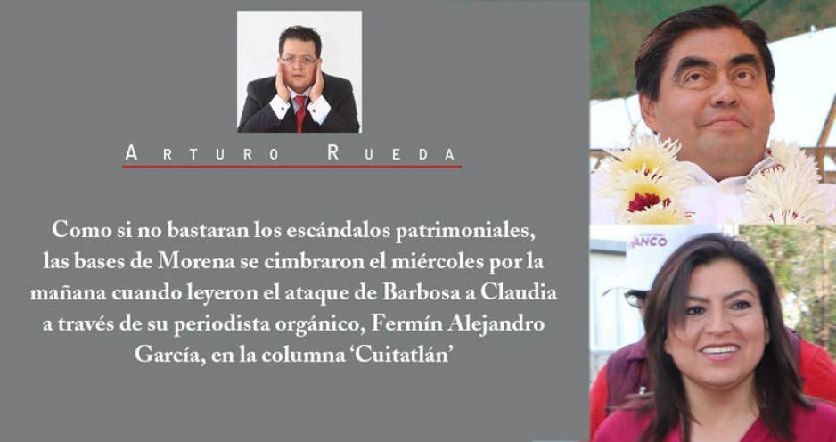 Barbosa vs Claudia Rivera. ¿Qué pasa en Morena?