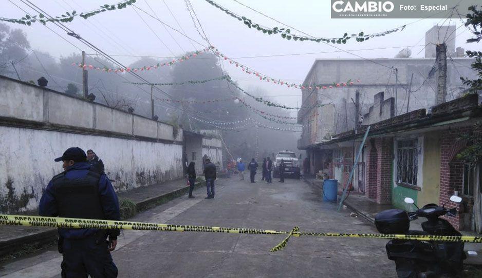 ¡Tremendo sustote! Explotan juegos pirotécnicos en Xiutetelco, no hubo heridos