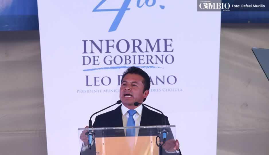 Paisano rinde su cuarto informe de labores; destaca que no ha contraído deuda pública
