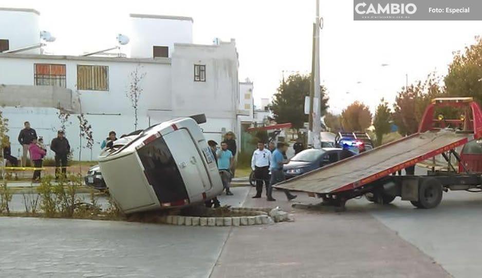 Balean y le roban cien mil pesos a agente de seguros en Huejotzingo