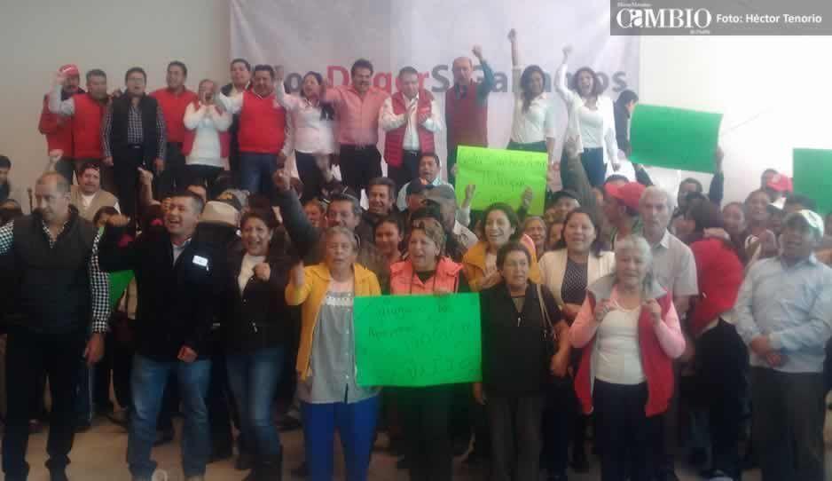 Formalizan la candidatura de Joel Díaz a la diputación local por Texmelucan