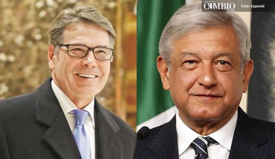 Secretario de EUA aplaude plan energético de AMLO