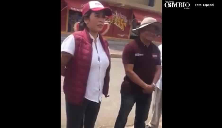VIDEO: En Coronango repudian a Teutli por cercanía con José Juan