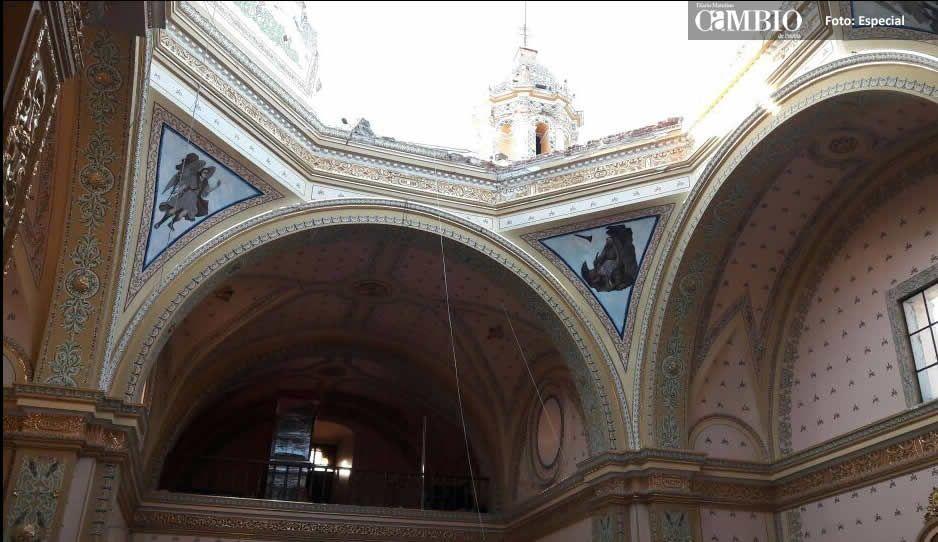 Libera Banorte fondos para restaurar templos en Atlixco