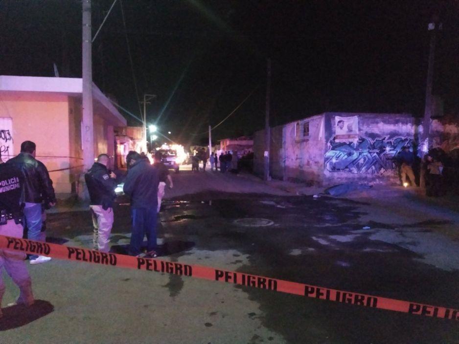 """Asesinan a balazos a un chavo banda de """"Los Parkas"""" en San Pedro Cholula"""