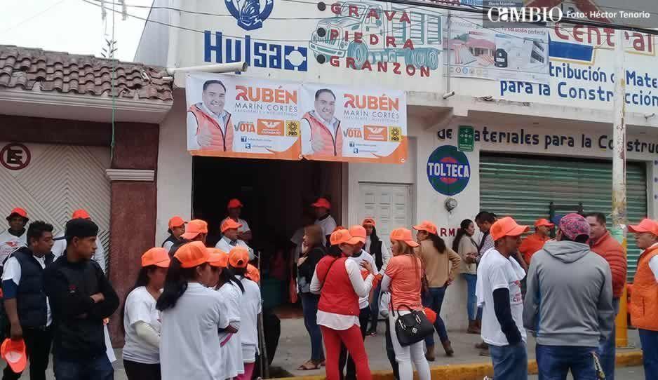 La inseguridad nos está rebasando: candidato del MC a la alcaldía de Huejotzingo
