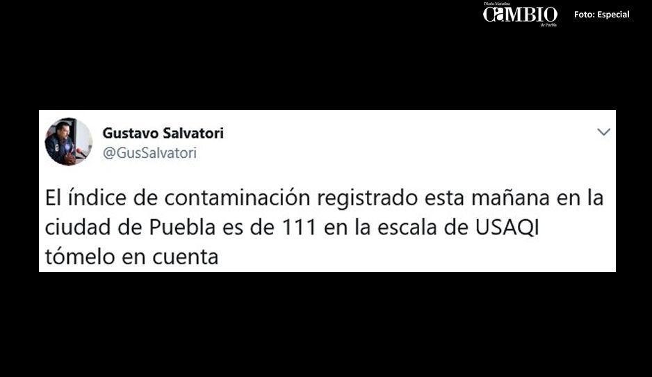 Puebla registra alto índice de contaminación ambiental