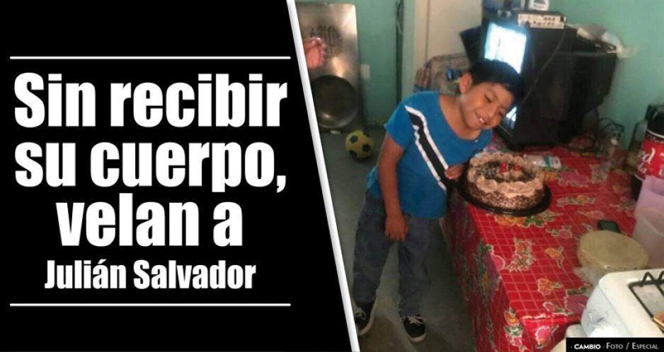 Sin recibir su cuerpo, velan a Julián Salvador