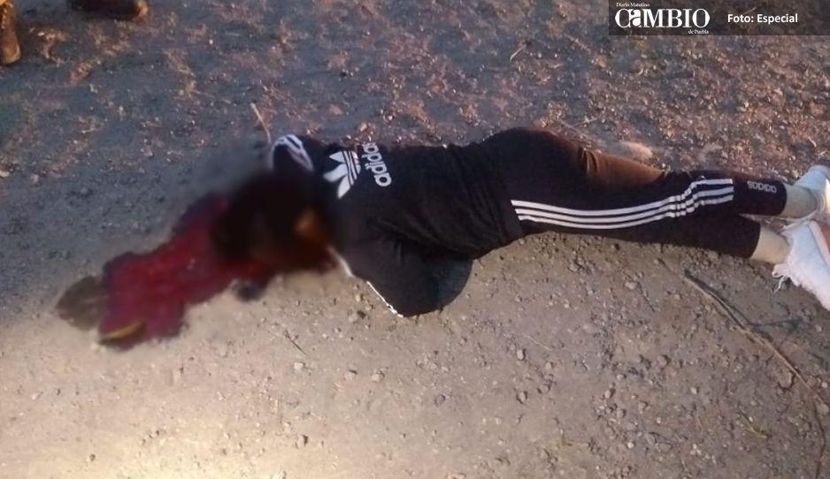 Feminicidio #52: la ejecutan con 3 tiros en  la cabeza y abandonan cuerpo en Atlixco