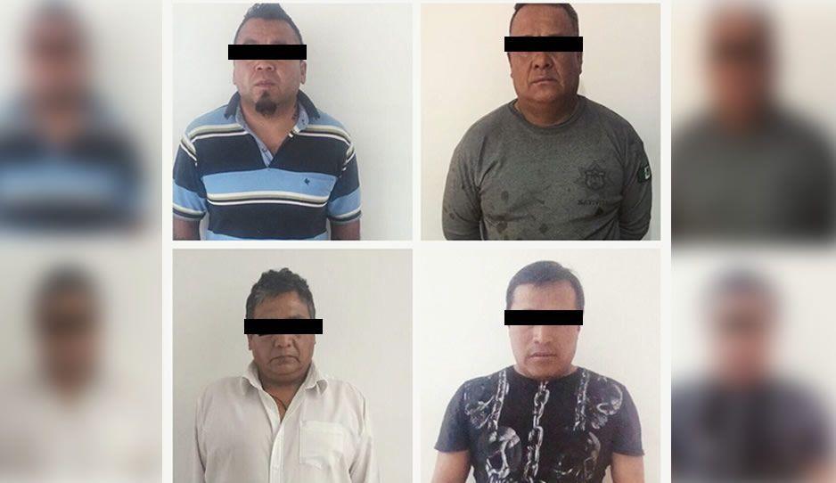 Capturan a otros cuatro asaltantes del Coppel de Lomas de Castillotla