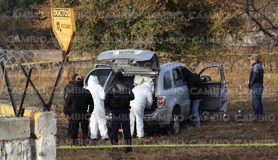 Comando mata a uno y deja viva a mujer en Texmelucan
