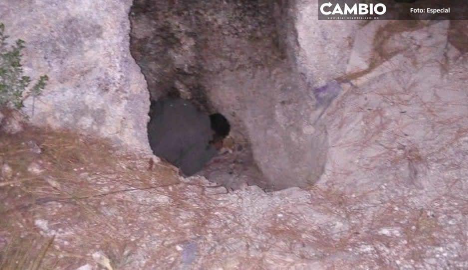 Cavernícola muere dentro de su cueva en Chignautla