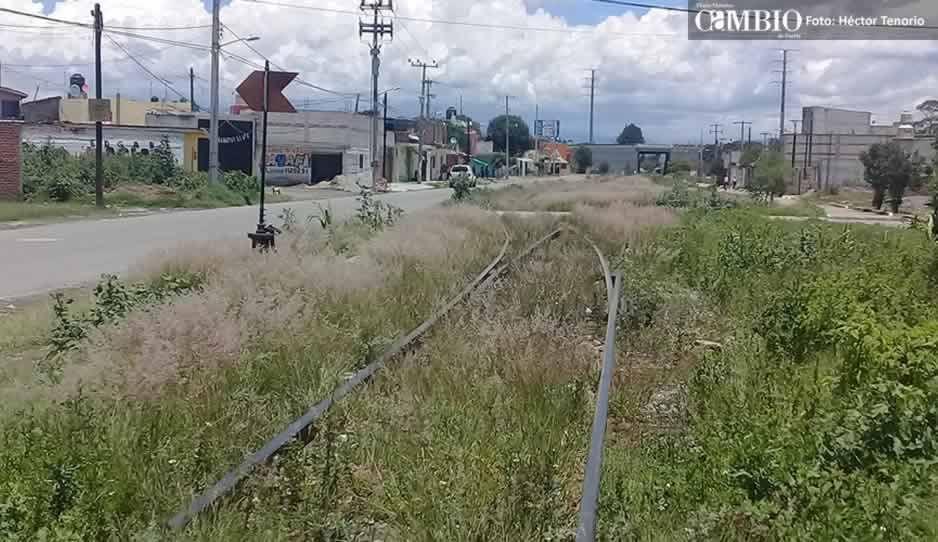 Pobladores de Moyotzingo desmienten a Ferrosur: no han realizado las obras pactadas