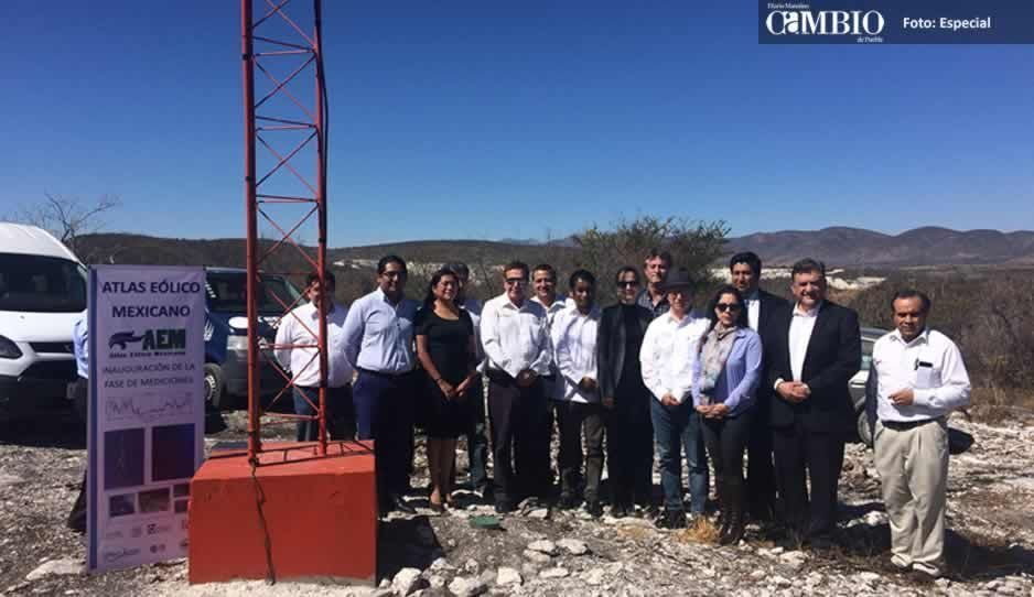 Ponen en marcha en Tepexi de Rodríguez antena de atlas eólico
