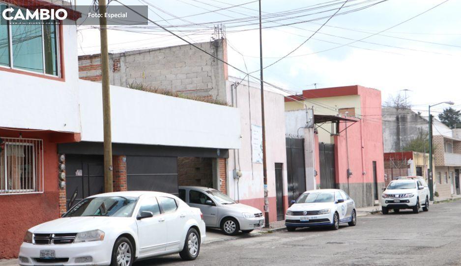 Catean casa de presunto plagiario  en la Guadalupe Victoria