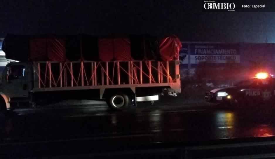 PF detienen a sujeto con más de 12 mil litros de huachicol en la México-Puebla