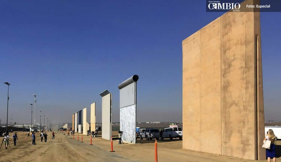Estados Unidos inició la construcción del muro fronterizo con México