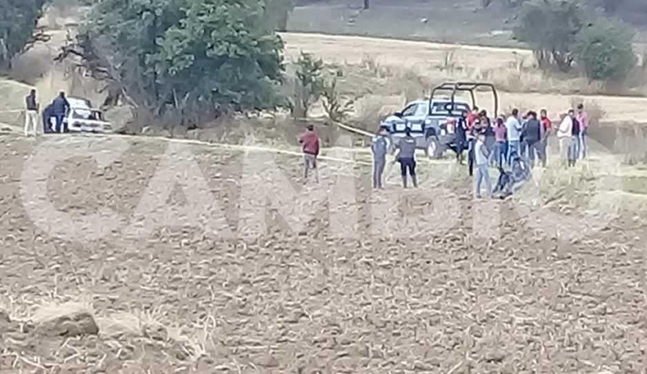 Localizan cadáver y vehículo calcinados en Tlahuapan
