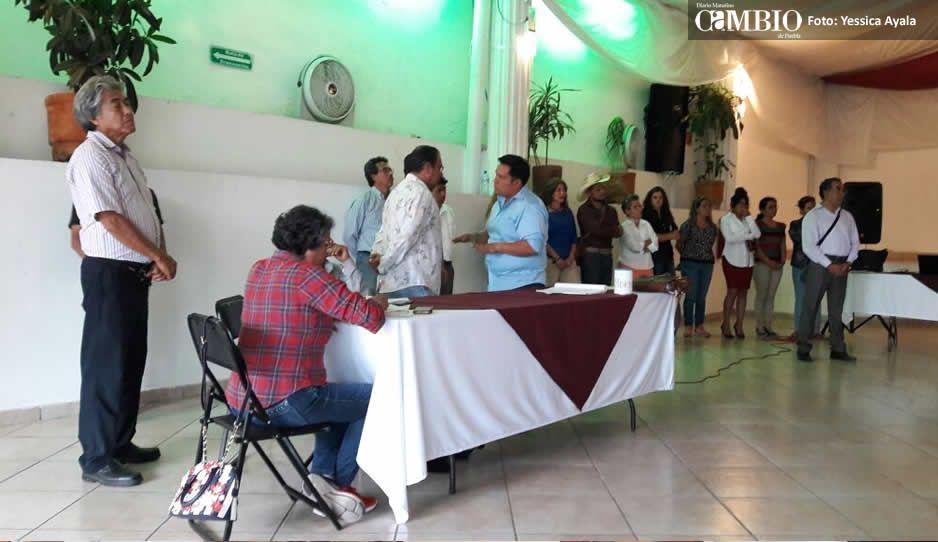 Morena no entrega dinero a Villarroel para que arranque campaña en Atlixco