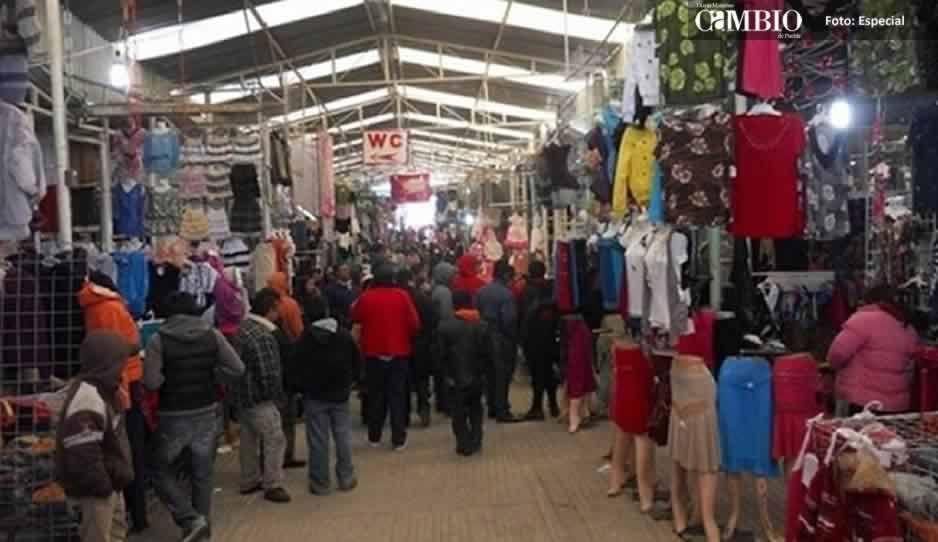 Regresará el martes de tianguis a Texmelucan; 24 organizaciones ya lo aceptaron