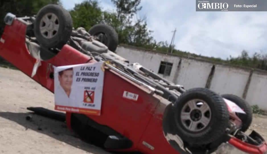 Empleados del ex alcalde de Tlacotepec, a punto de ser linchados por secuestrar a 2 campesinos