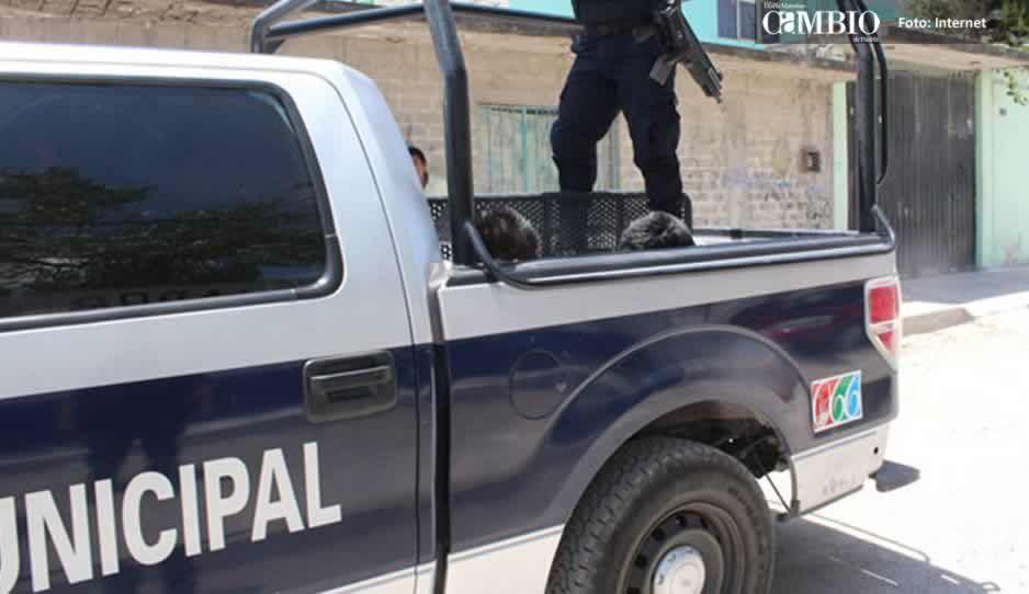 Policías de Huejotzingo rescatan a ladrón de ser linchado