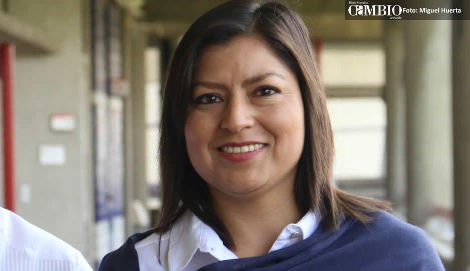 Claudia Rivera realiza cambios en su planilla, Libertad Aguirre ya no será su suplente