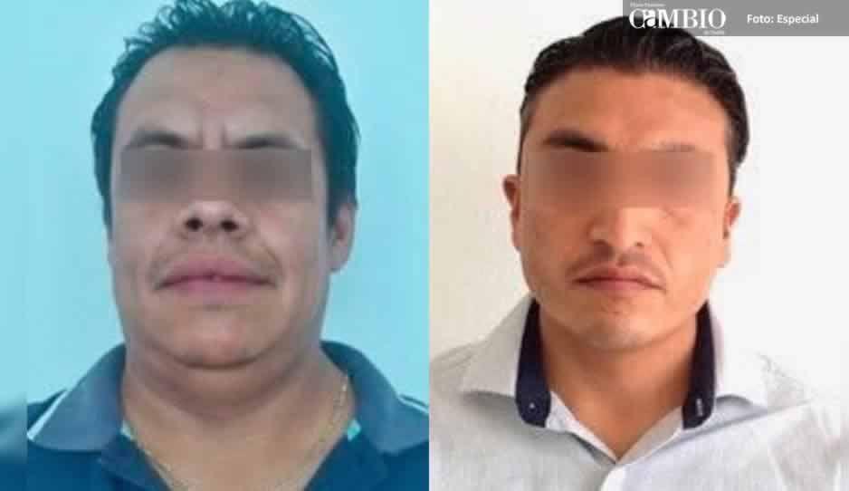 Detienen a dos secretarios de acuerdos del Juzgado de Texmelucan por peculado