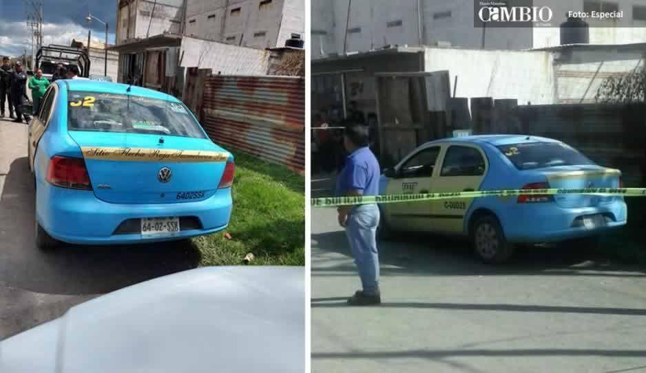 Taxistas de Texmelucan y Huejotzingo buscan a compañero desaparecido el sábado
