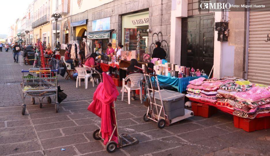 Gobierno de Banck asegura que no otorgaron permisos al comercio informal para vender en el Guadalupe-Reyes
