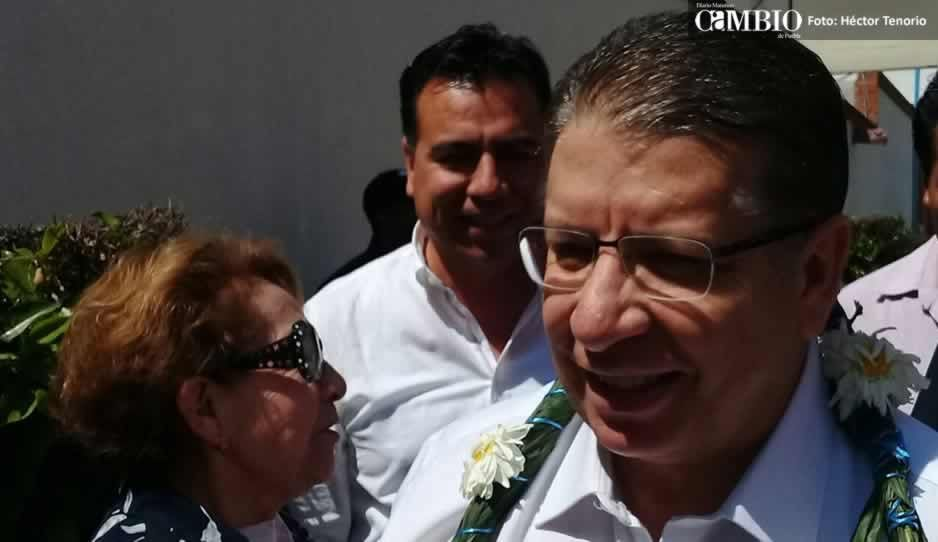 Doger minimiza la salida de Carlos Alberto Morales de la militancia de Huejotzingo