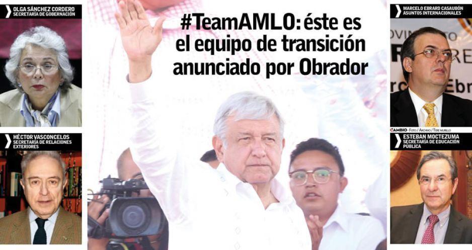 AMLO asegura transición