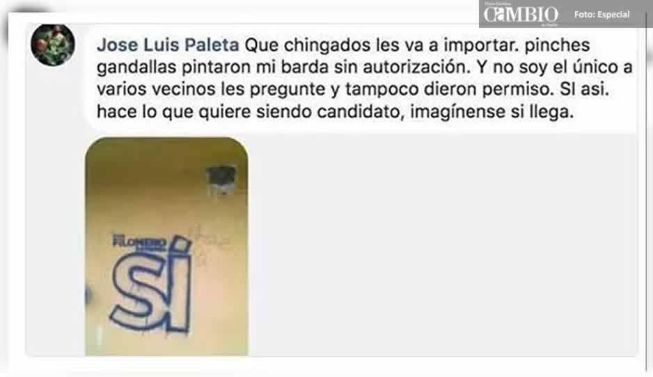 Denunciarán ante el INE a Filomeno Sarmiento por financiar su campaña con el erario público