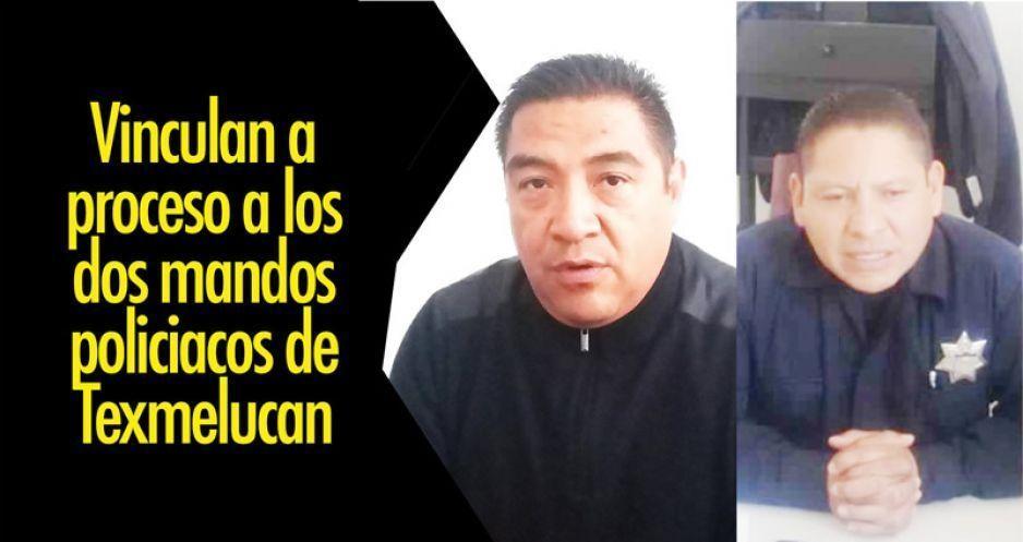 Vinculan a proceso a los dos mandos policiacos de Texmelucan
