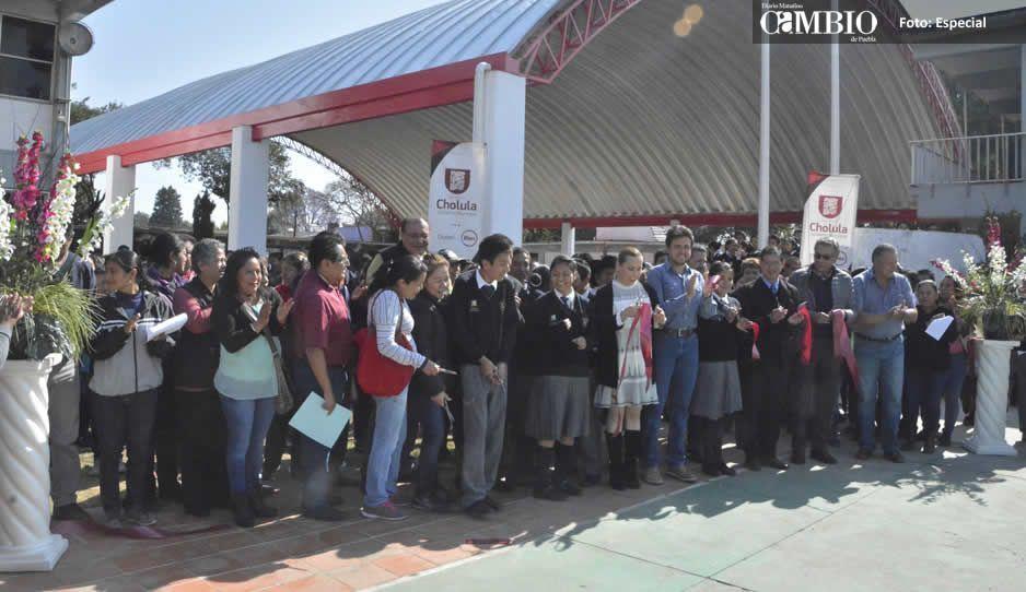 Apoyo a la educación, prioridad en el gobierno de San Pedro Cholula