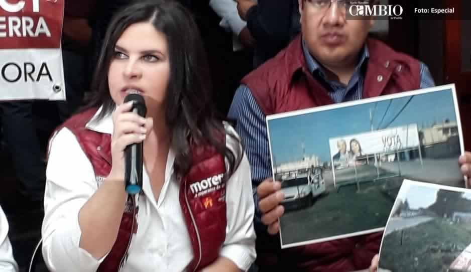 Norma Layon quiere ser presidenta municipal de Texmelucan pero desconoce las juntas auxiliares