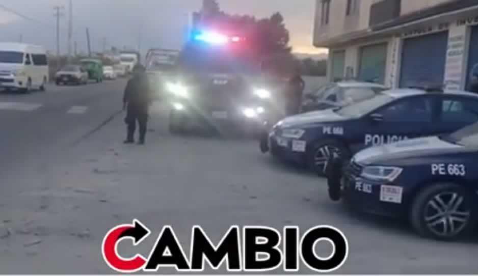 GOAT asegura cinco unidades ligadas al robo de combustible en Texmelucan (VIDEO)