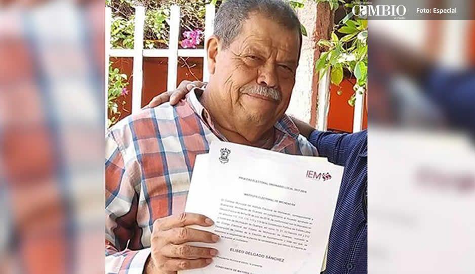 Asesinan a Eliseo Delgado alcalde electo en Michoacán