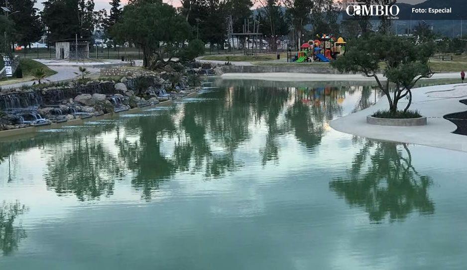Concluyen limpieza de Playa Amalucan: Piden a los poblanos no volver a ensuciarlo