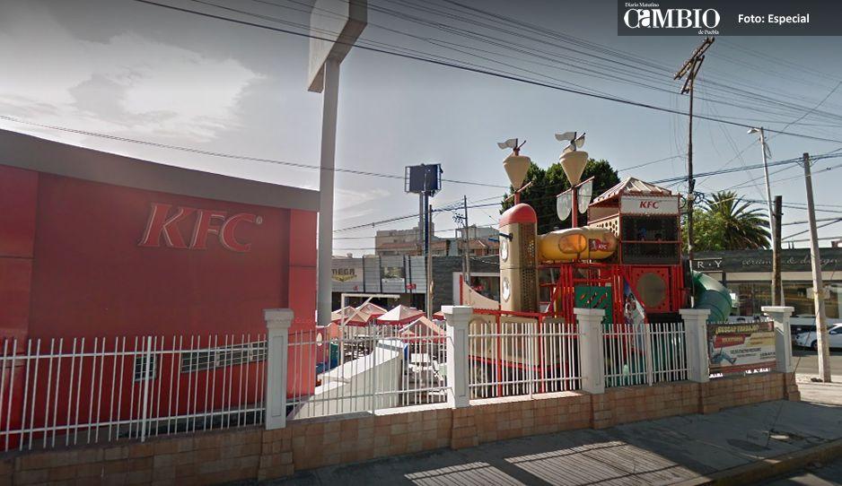Por segunda vez en el año asaltan el KFC de la Belisario Domínguez