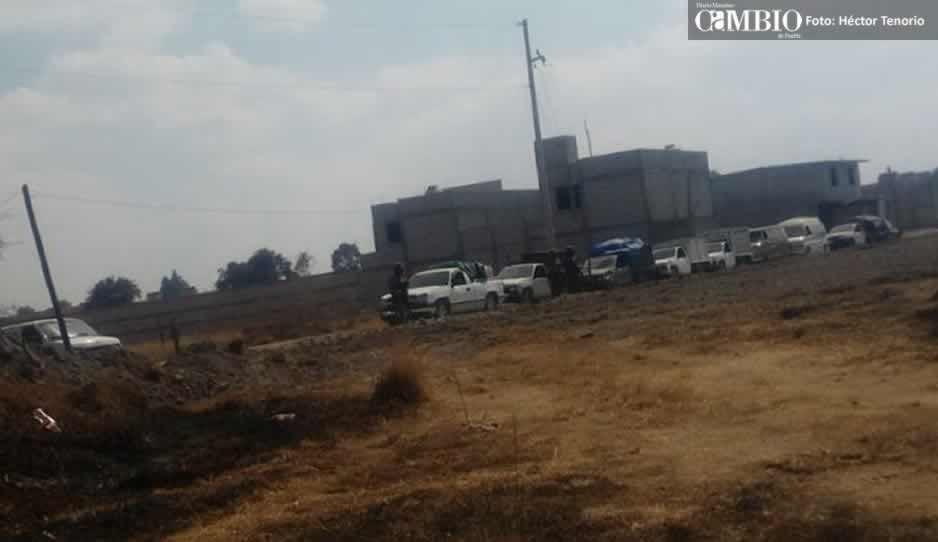 Ejército Mexicano asegura 14 unidades cargadas con combustible en Texmelucan