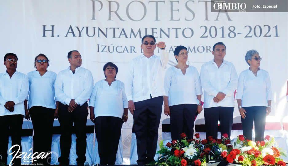 Alcalde Melitón Lozano repite a  perredistas en gabinete de Izúcar