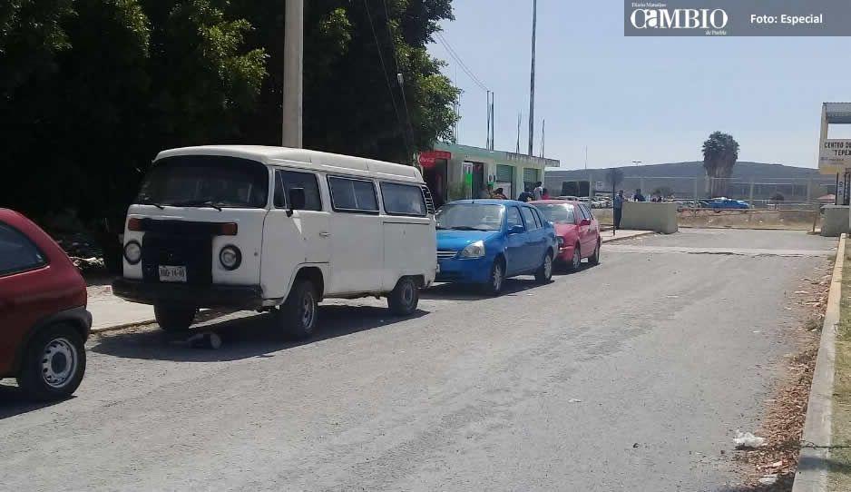 Salen cinco policías cachirules del penal de Tepexi de Rodríguez (VIDEO)