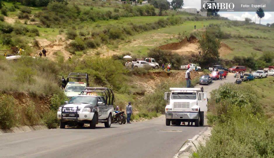 Apedrean a militares y policías federales en Tláloc